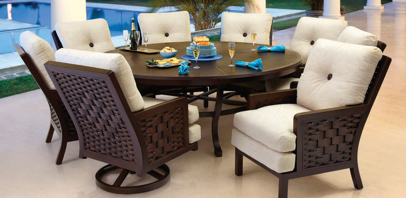Spanish bay collection in costa rica costa rica for Outdoor furniture spain